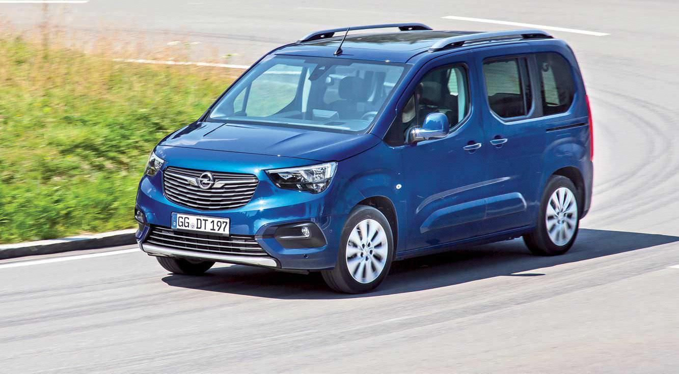 Nuevo Opel Combo Life - Tecnologia De Turismo
