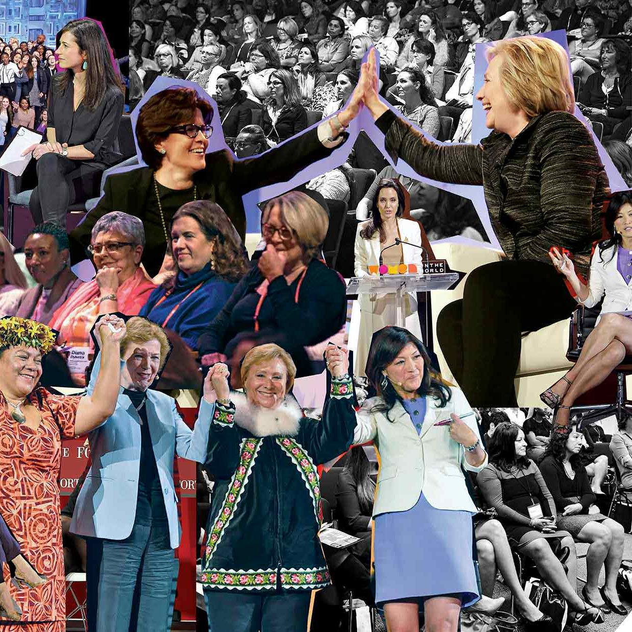 The Female Solidarity, Have-It-All, Feel-Good Machine