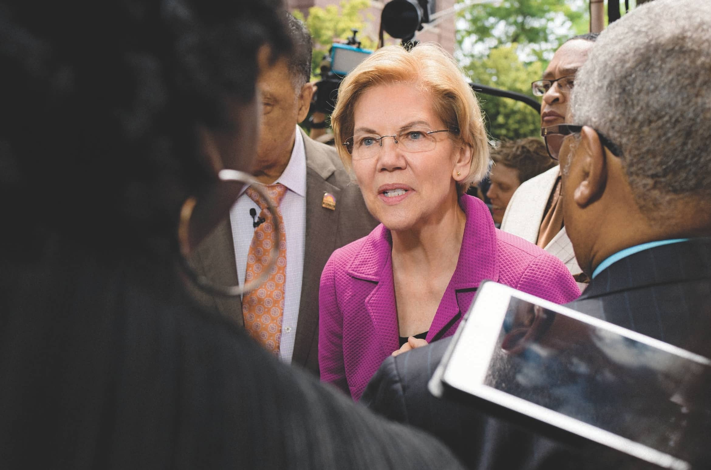 Elizabeth Warren Is Done Playing It Safe