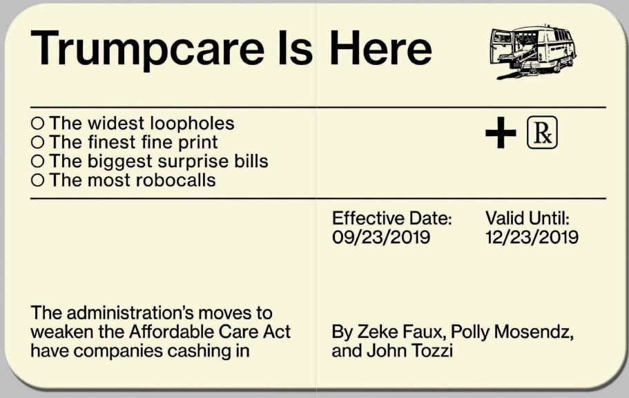 The High Cost Of Trumpcare