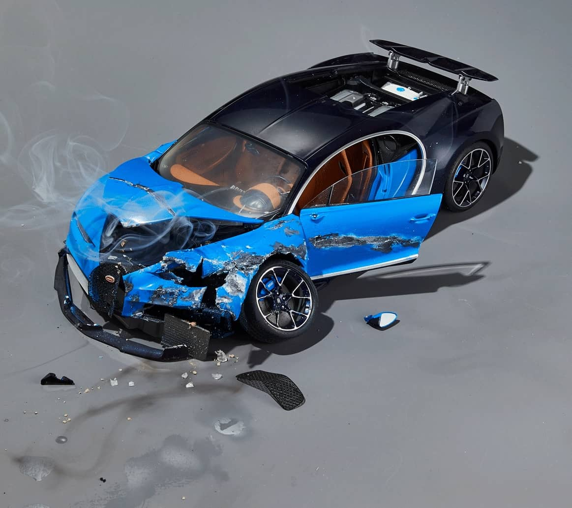 So, You Crashed Your Bugatti. Now What?