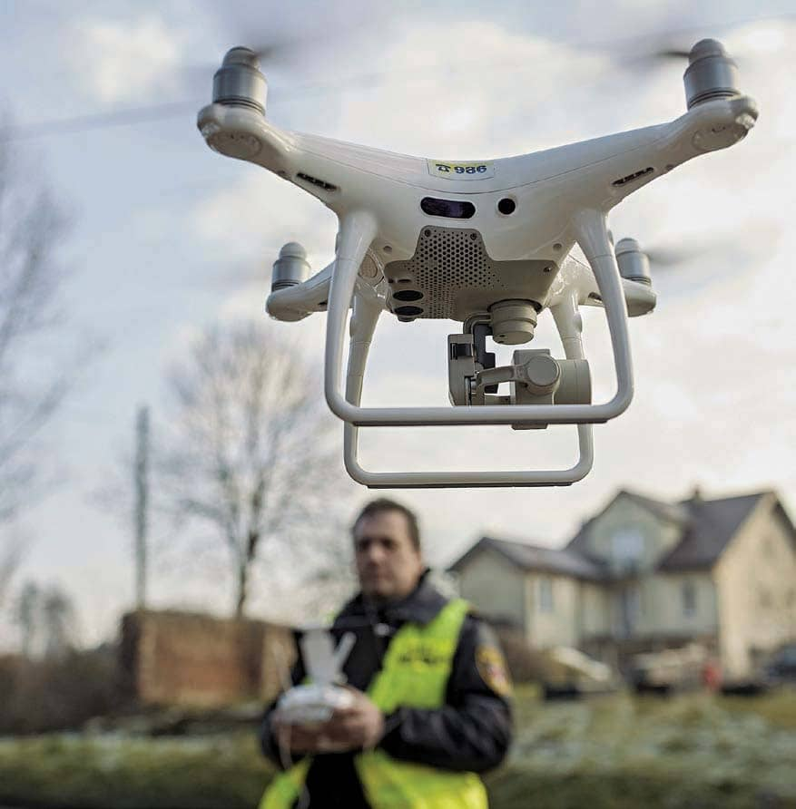 The Pollution-Busting Drones Of Krakow