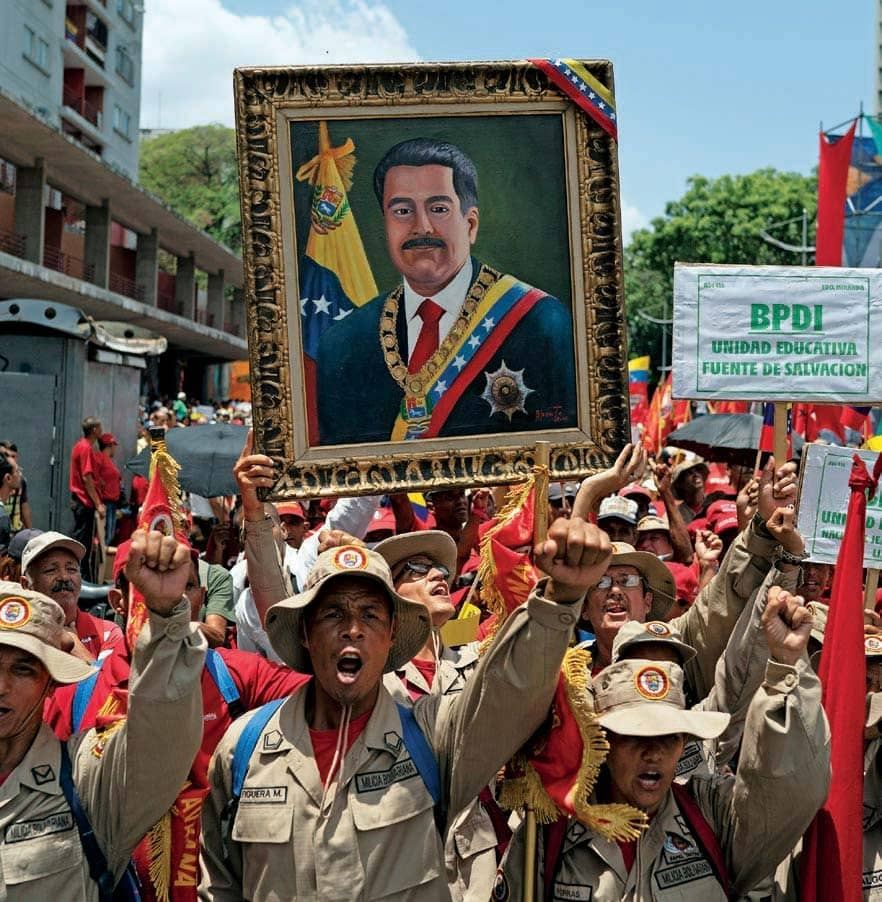 Venezuela's Maduro Bucks The Tide