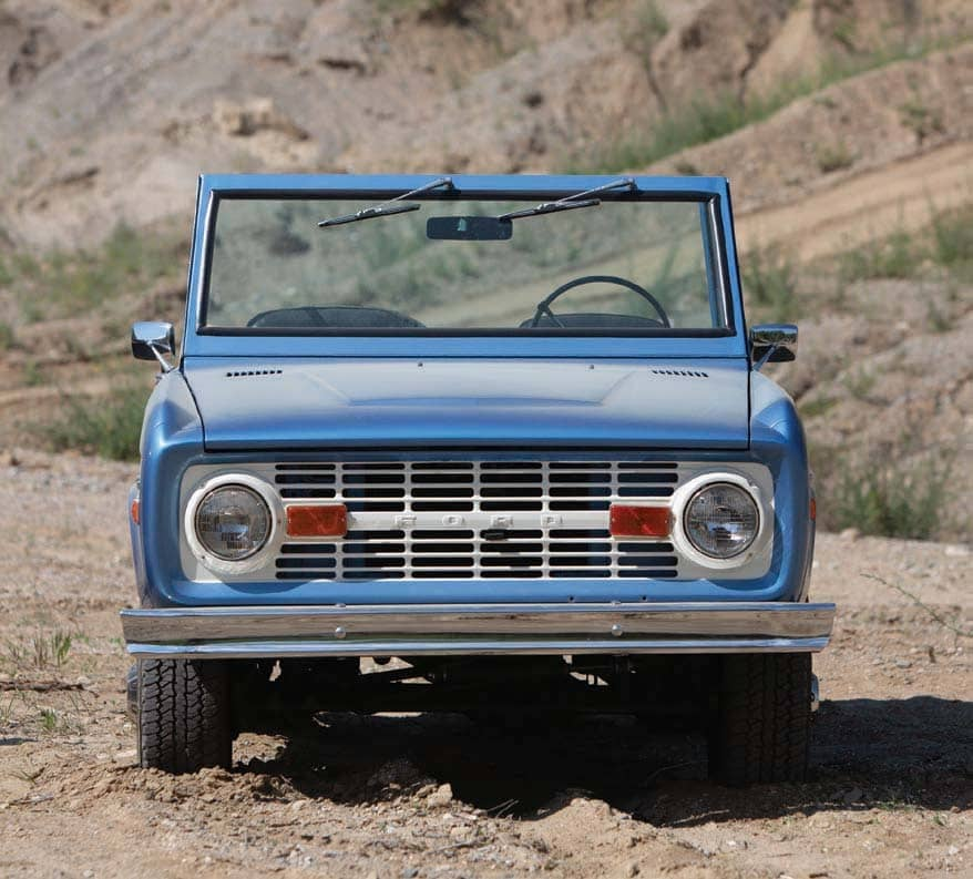 THE BRONCO IS BACK