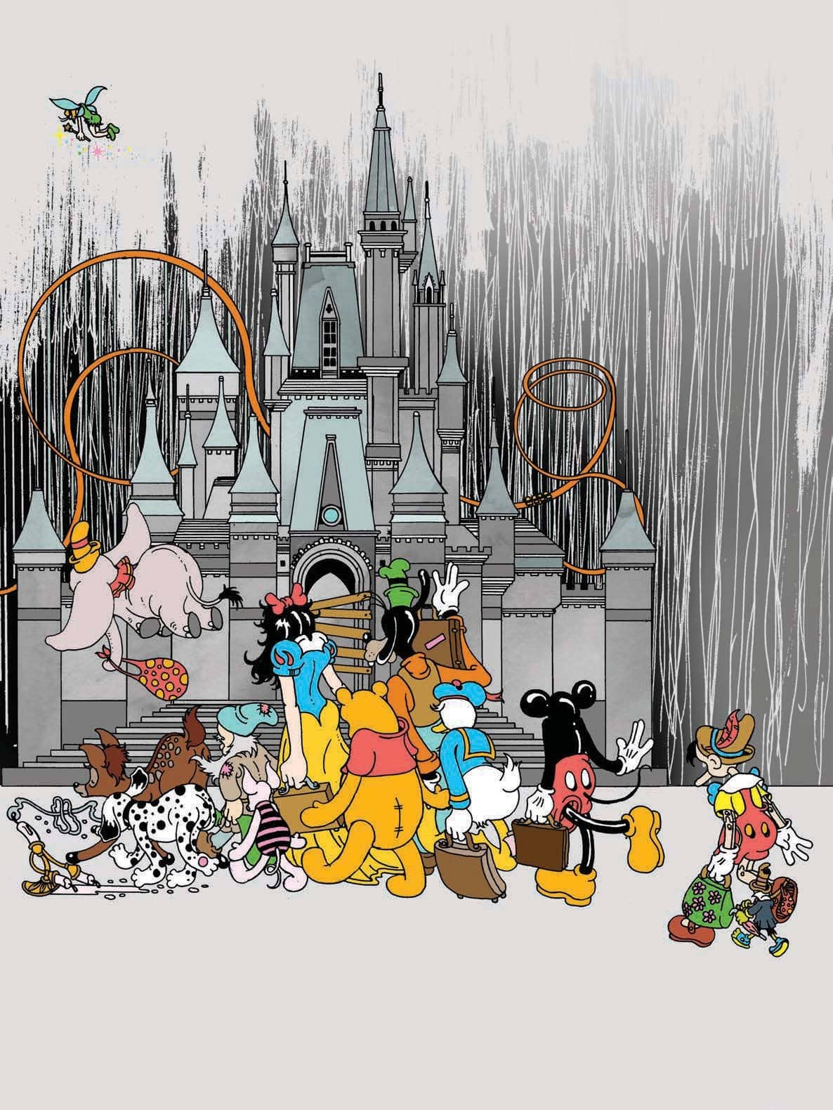 Disney's Not the Happiest Place On Earth These Days