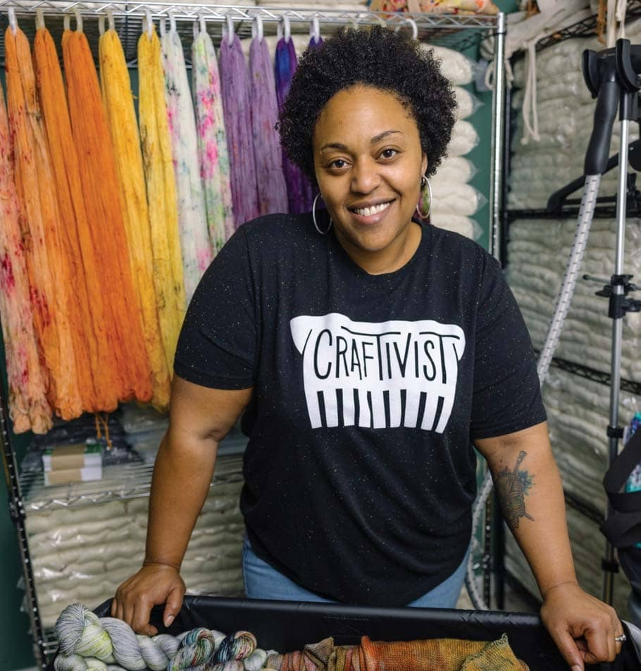 Small Business - A New Look for The Yarn Industry