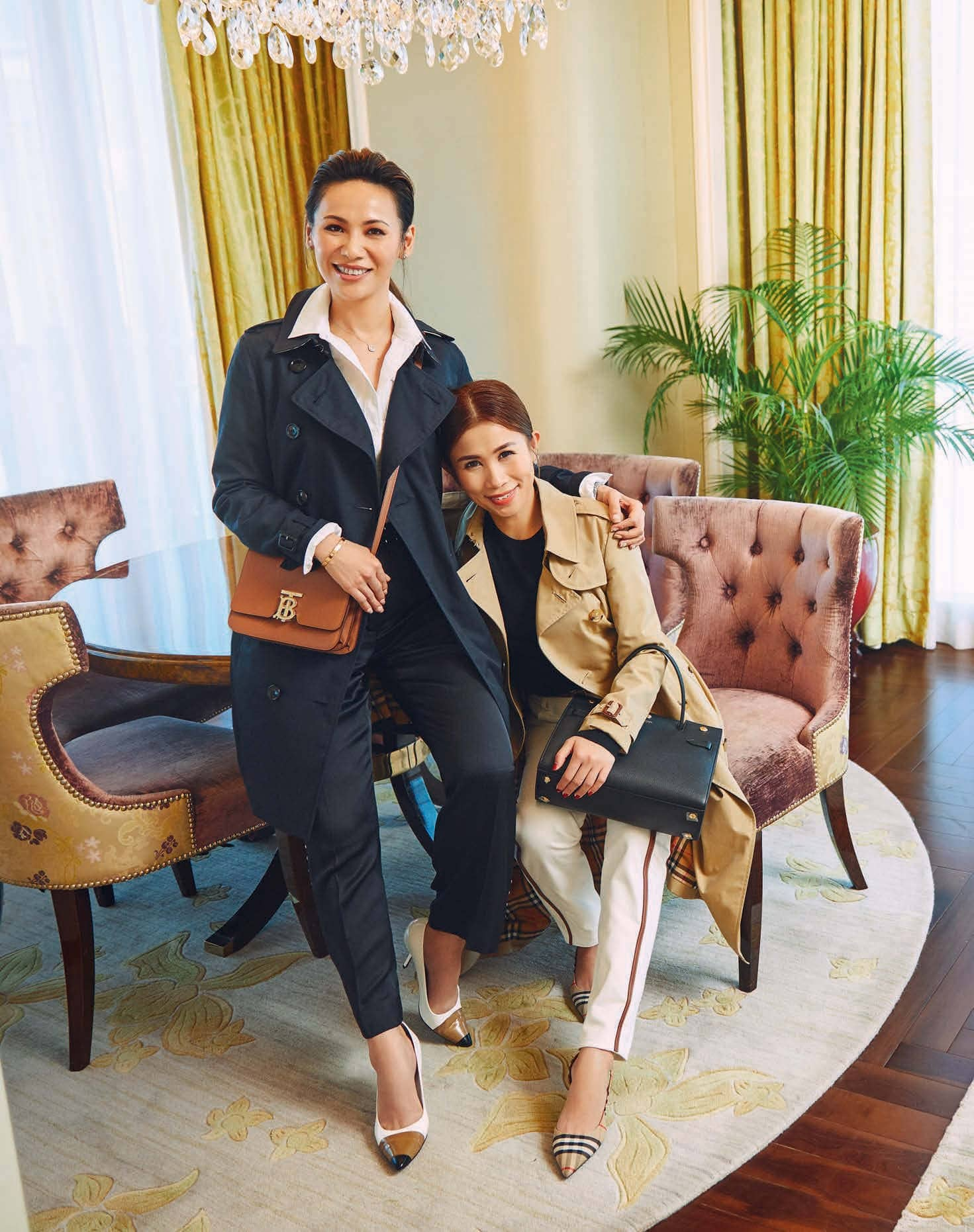 Carol Shieh And Sammi Lim, Bond Over Shared Interests, And All Things Burberry