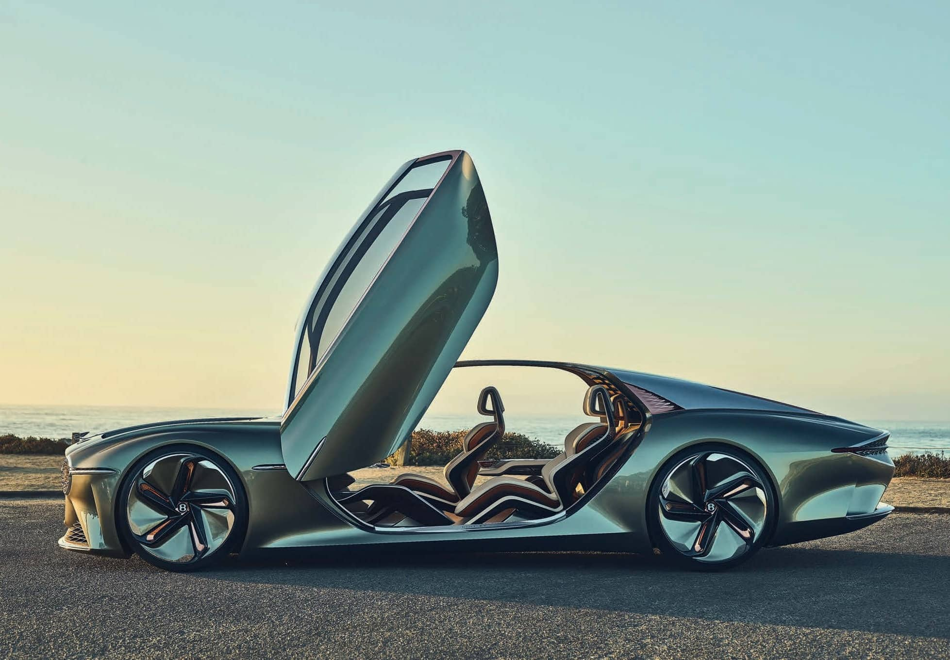 The Bentley EXP 100 GT Concept Car Offers A Glimpse Into Its Dramatic New Design Language