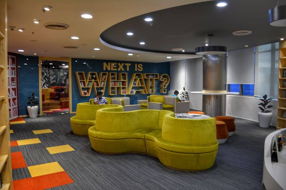 Samsung Library And Ideation Hub: A Unison Of Collaboration And Contemplation