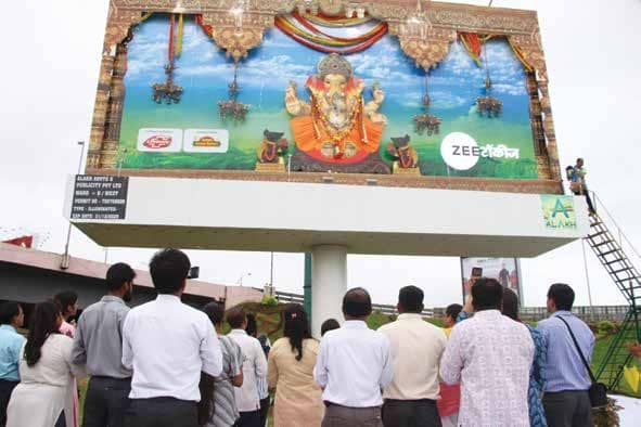 ZEE Talkies Makes A Spectacular Ganesh 'sthapana'