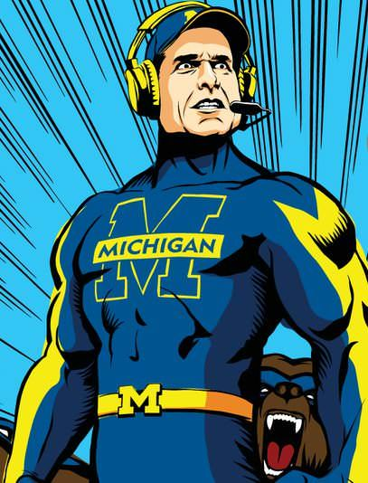 Michigan vs Ohio State - Natural Born Rivals