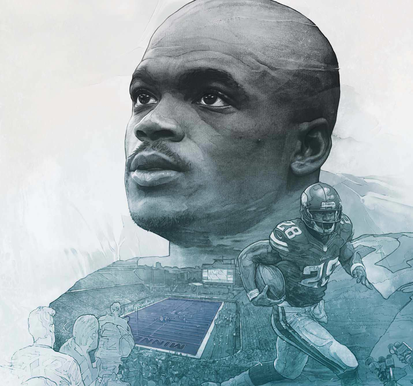 Adrian Peterson Is Living In His Own World