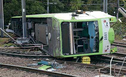 RAIB Report Outlines Croydon Tram Operator's Safety Failings