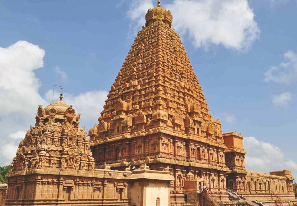 The Naganathaswamy Temple In Tanjore