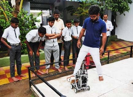 Students of this government school are making robots, flying drones, & learning how to code
