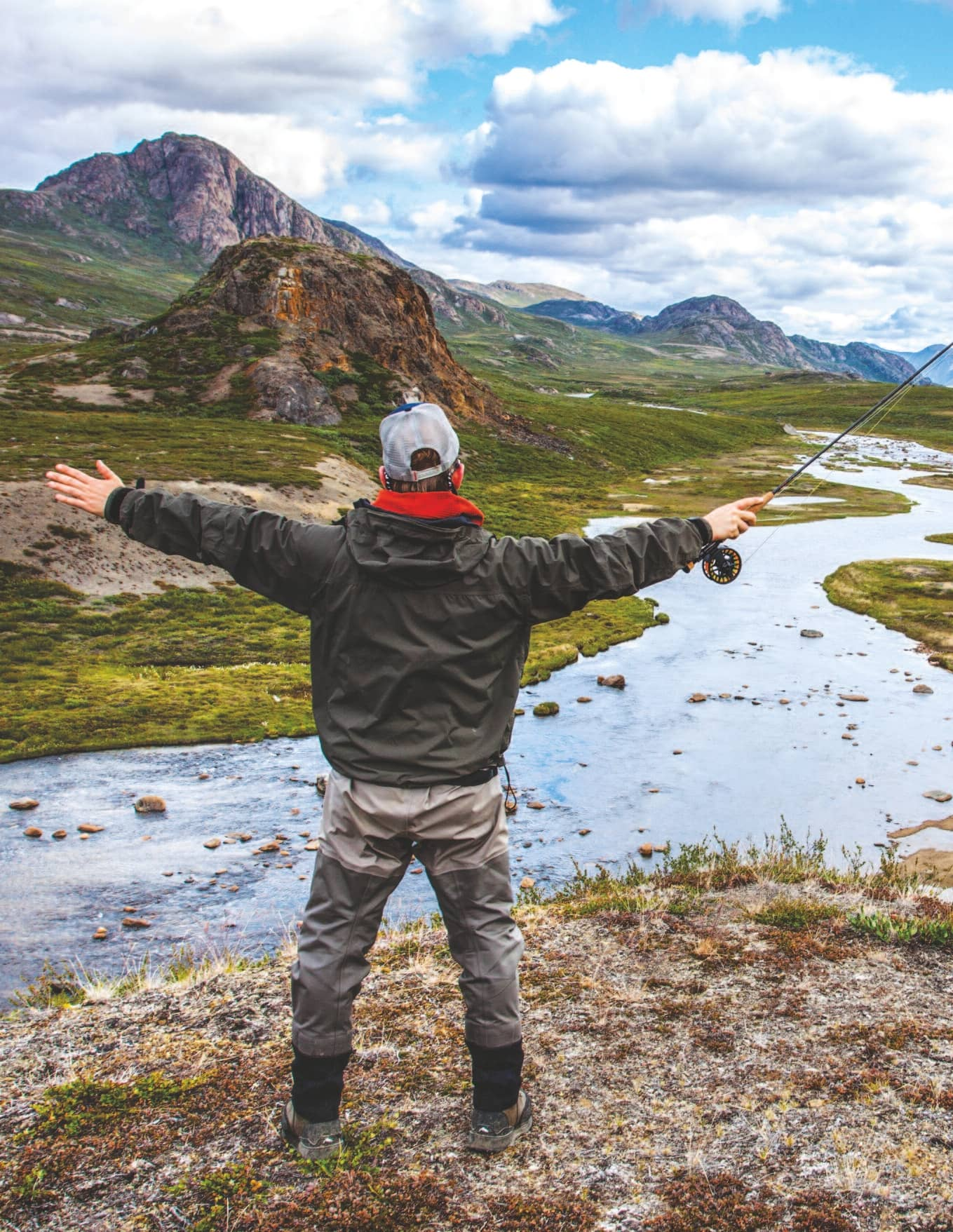 Greenland Fly Fishing On Top Of The World