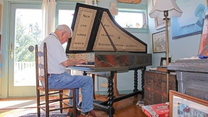 Gerald Wheeler, Longtime Church Organist, Choir Director, Retires