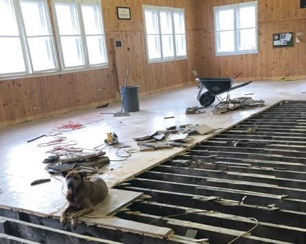 Brooksville Community Center Undergoes Facelift