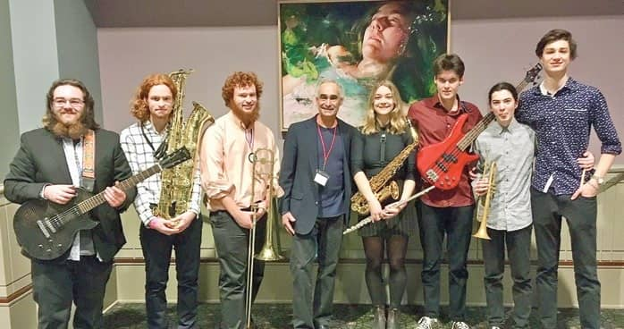 GSA combo places second at National Jazz Festival