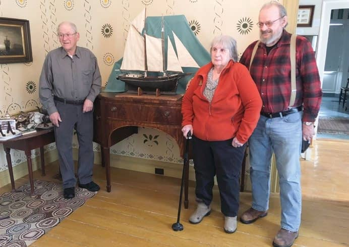 Historic Model Ship Returns To Home Waters