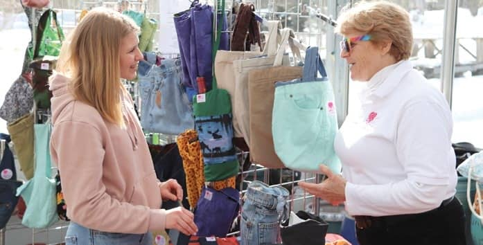 Blue Hill Business Fashions New Styles Out Of Old Clothes
