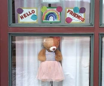 Find the teddy bears around town