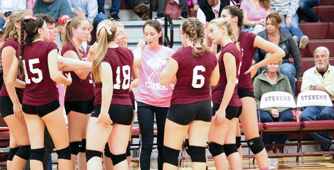 Toughness Key For GSA's Volleyball Success
