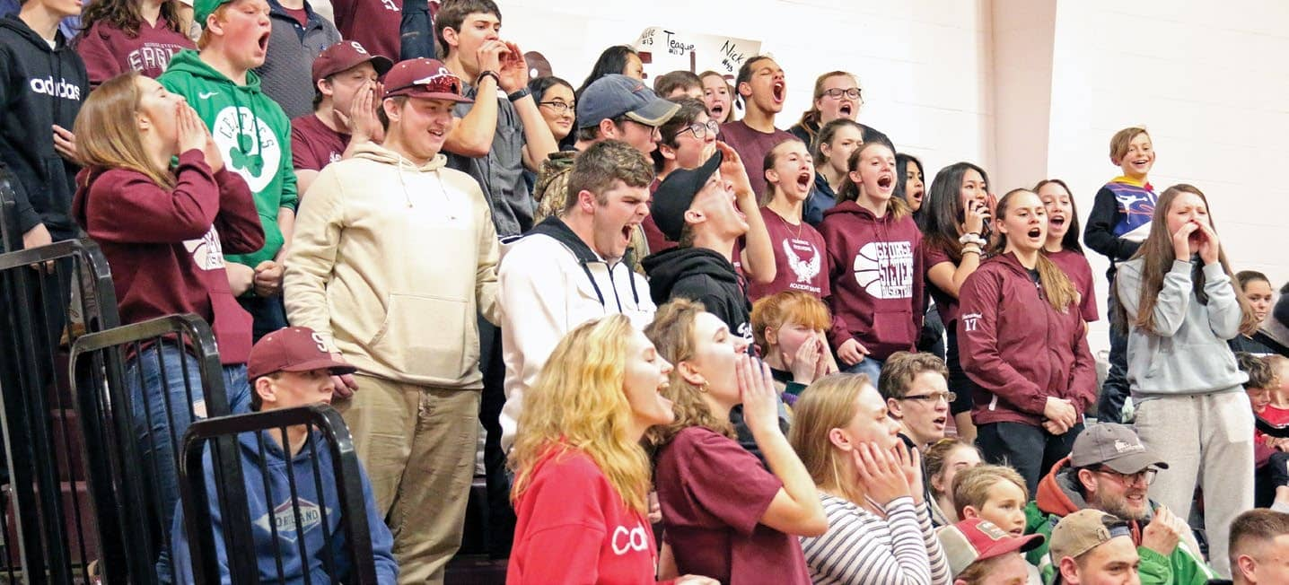 Eagles, Mariners rock GSA gym in overtime game