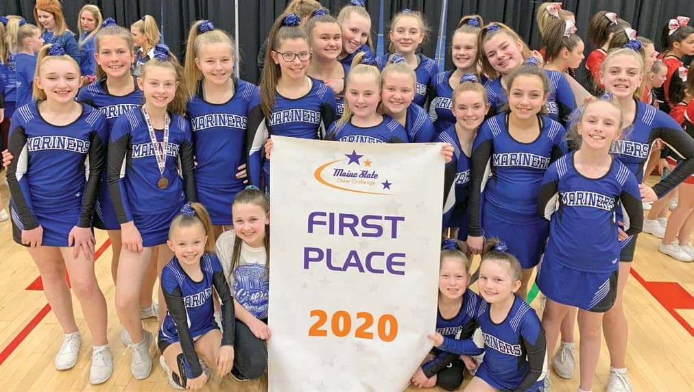 Young cheerleaders bring home title
