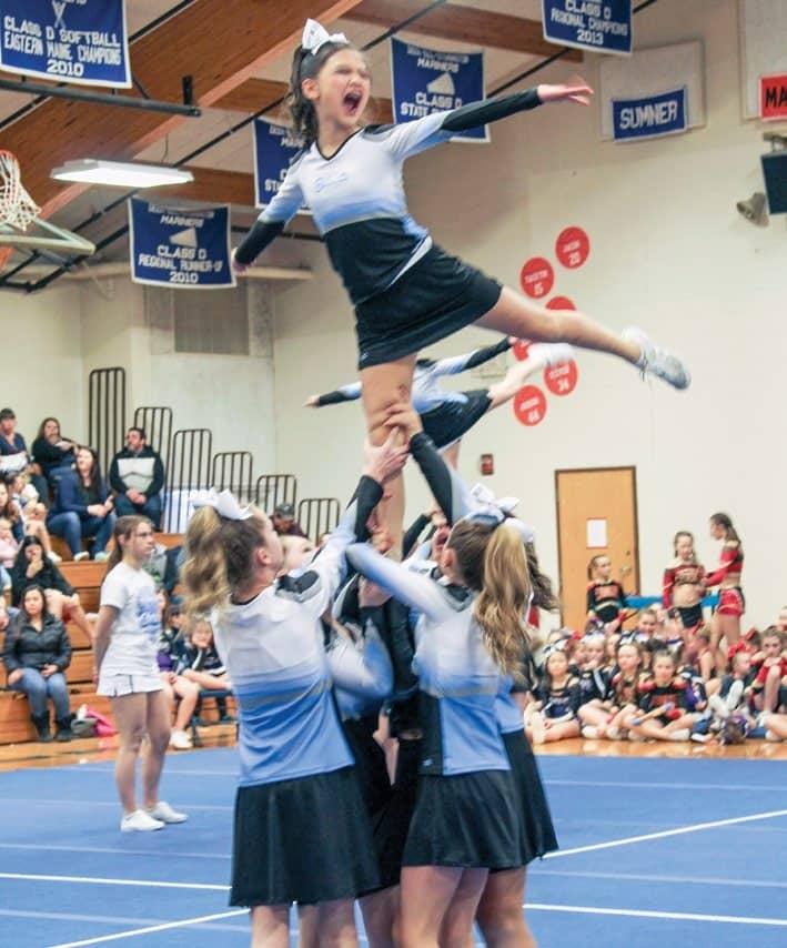 Cheer contest draws hundreds to DISHS