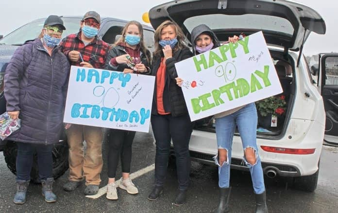 How to throw a birthday bash in a snowstorm and a pandemic