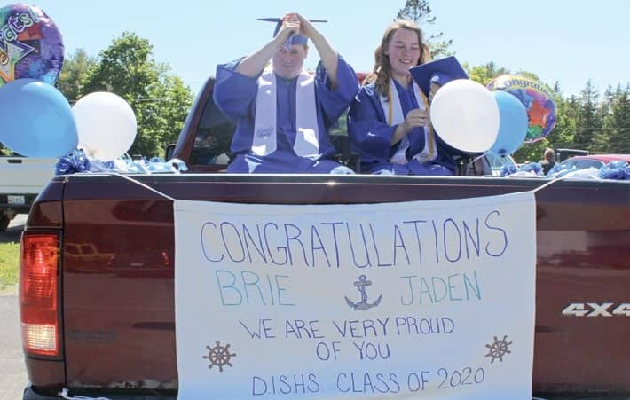 DISHS graduation unlike any before