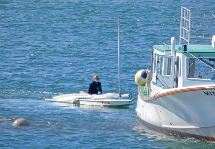 Mailboat captains rescue distressed sailors