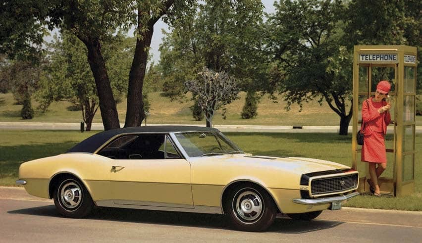 GET TO KNOW: Camaro Engines through the Years