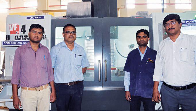 Sahney Raises Productivity Using Haas CNC Machines