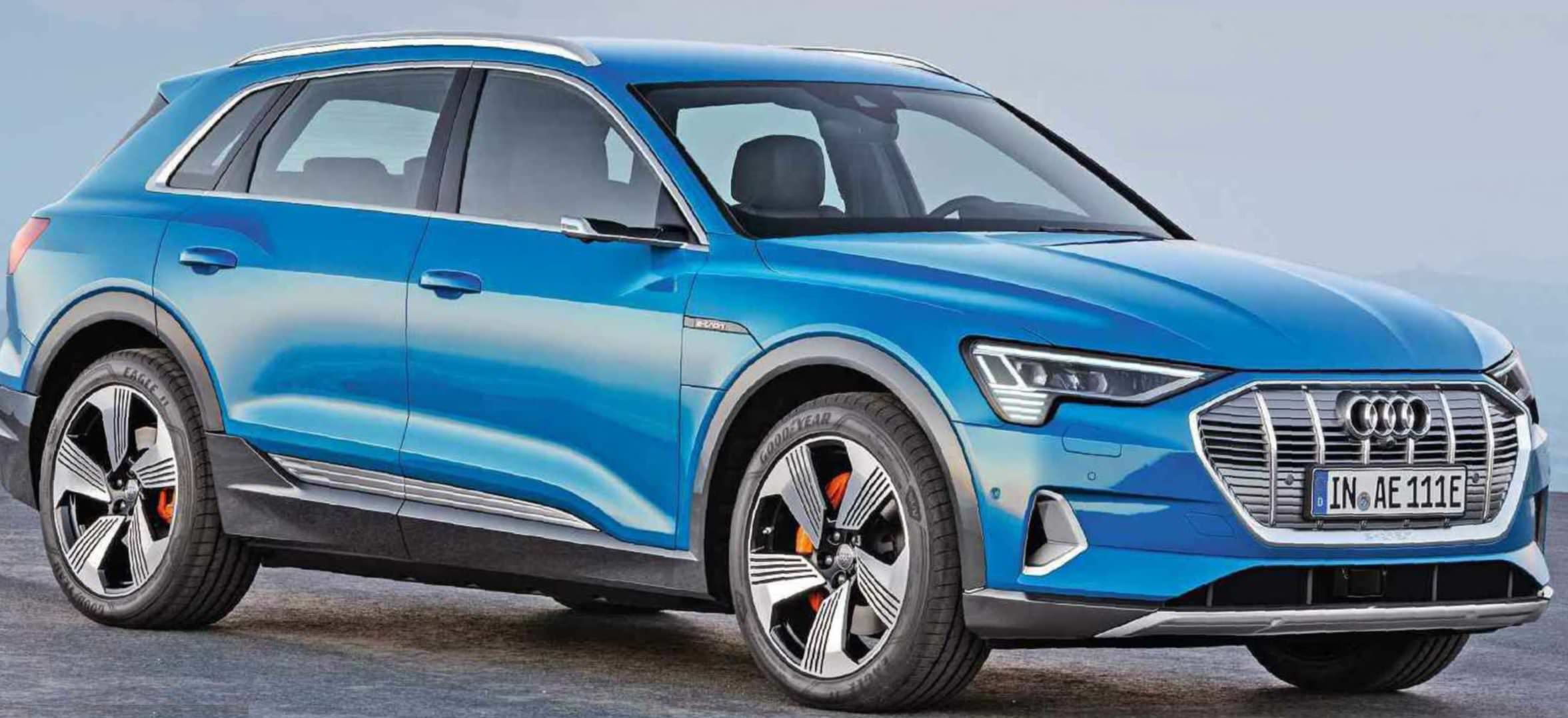 Audi E-tron Plugs In To Rival I-Pace