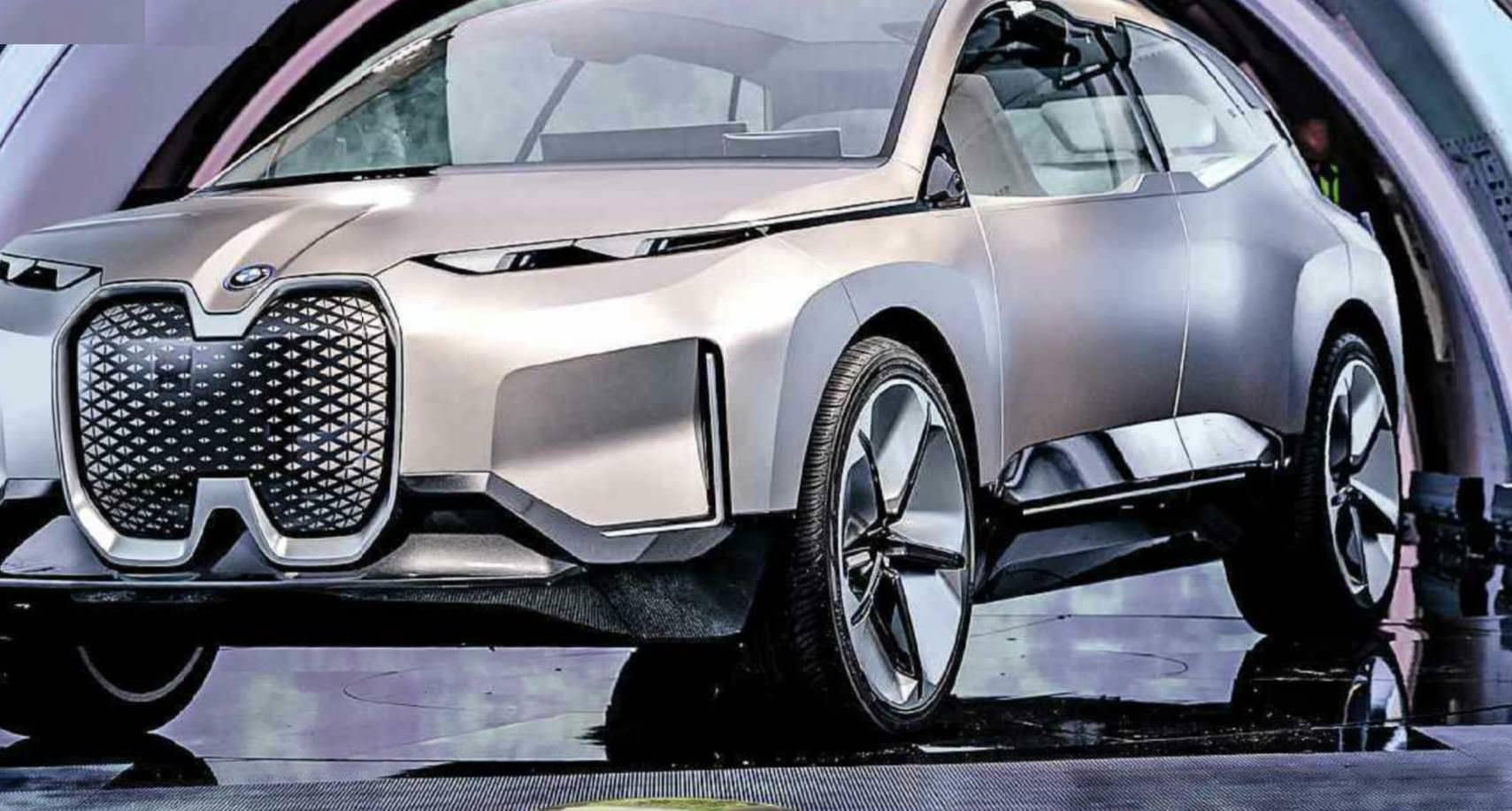 BMW Gives A Glimpse Of Bold Flagship EV