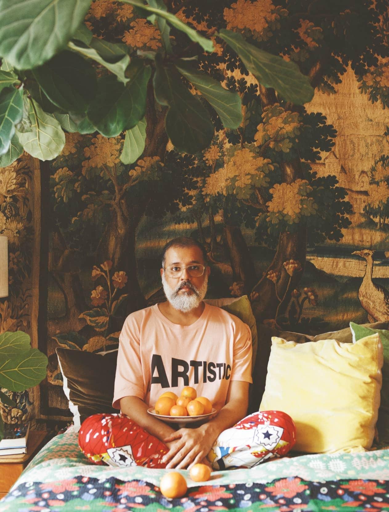 Designer Ashish Gupta Discuss His Love For Collecting Vintage Fabric