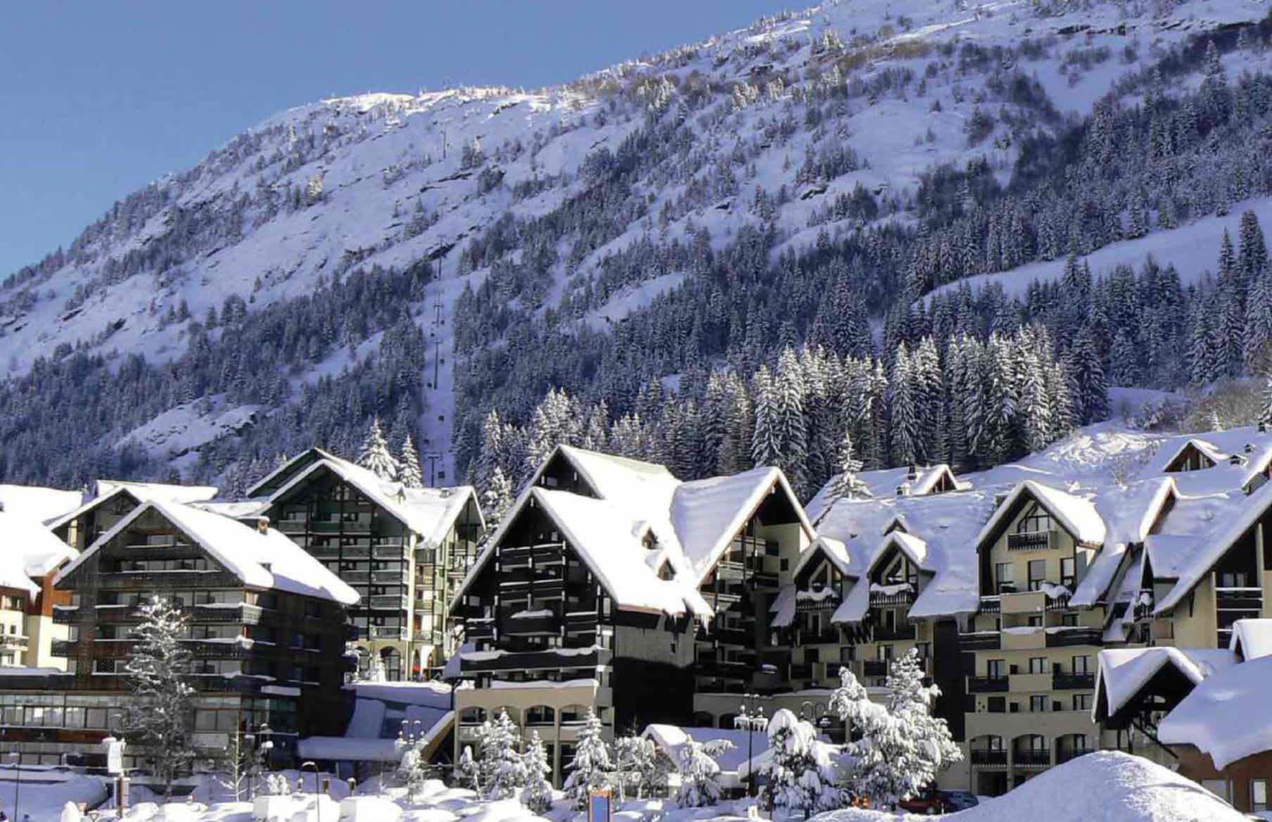 Satellite Skiing