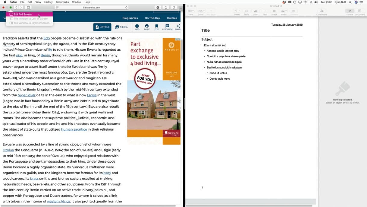 MULTITASK WITH YOUR MAC
