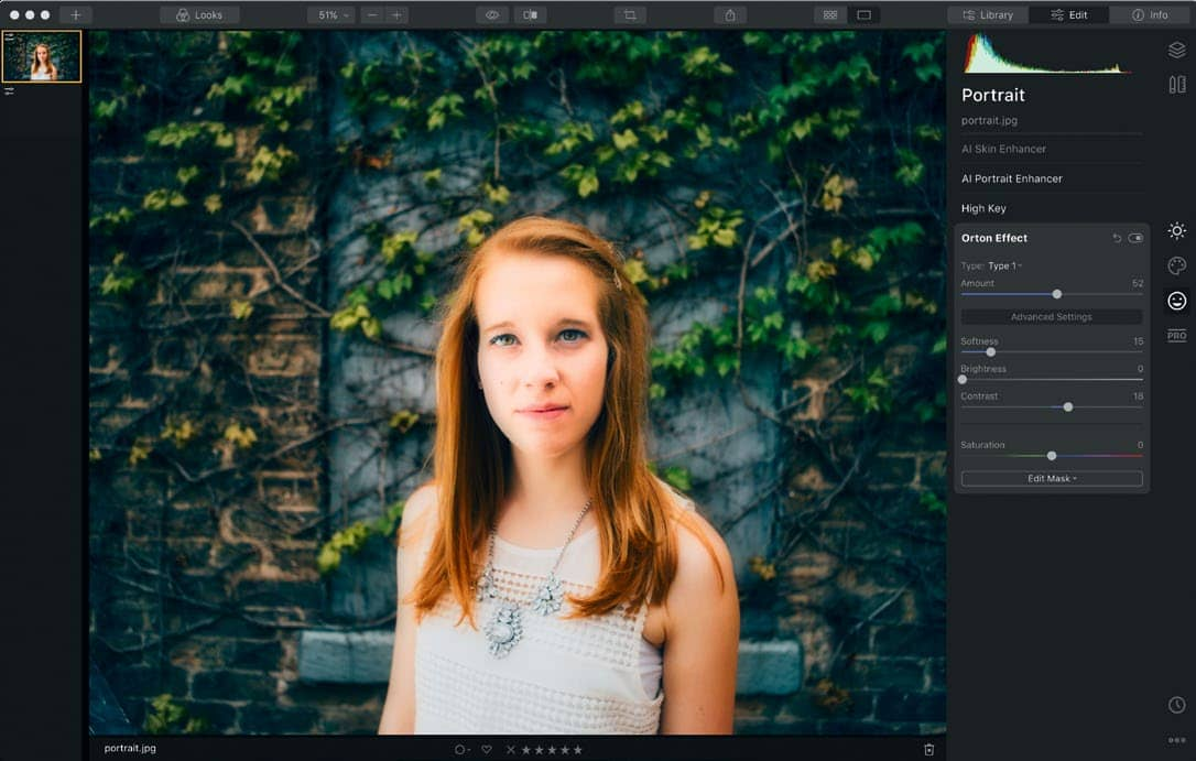 Create the perfect portrait with Luminar 4