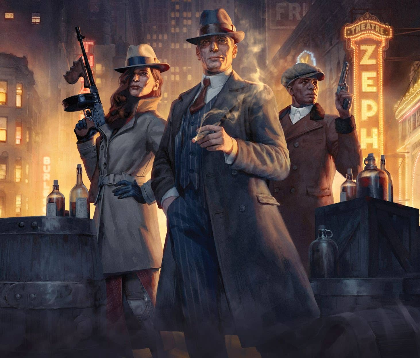 Alcohol Is Everything In Romero Games' Prohibition-Era Game