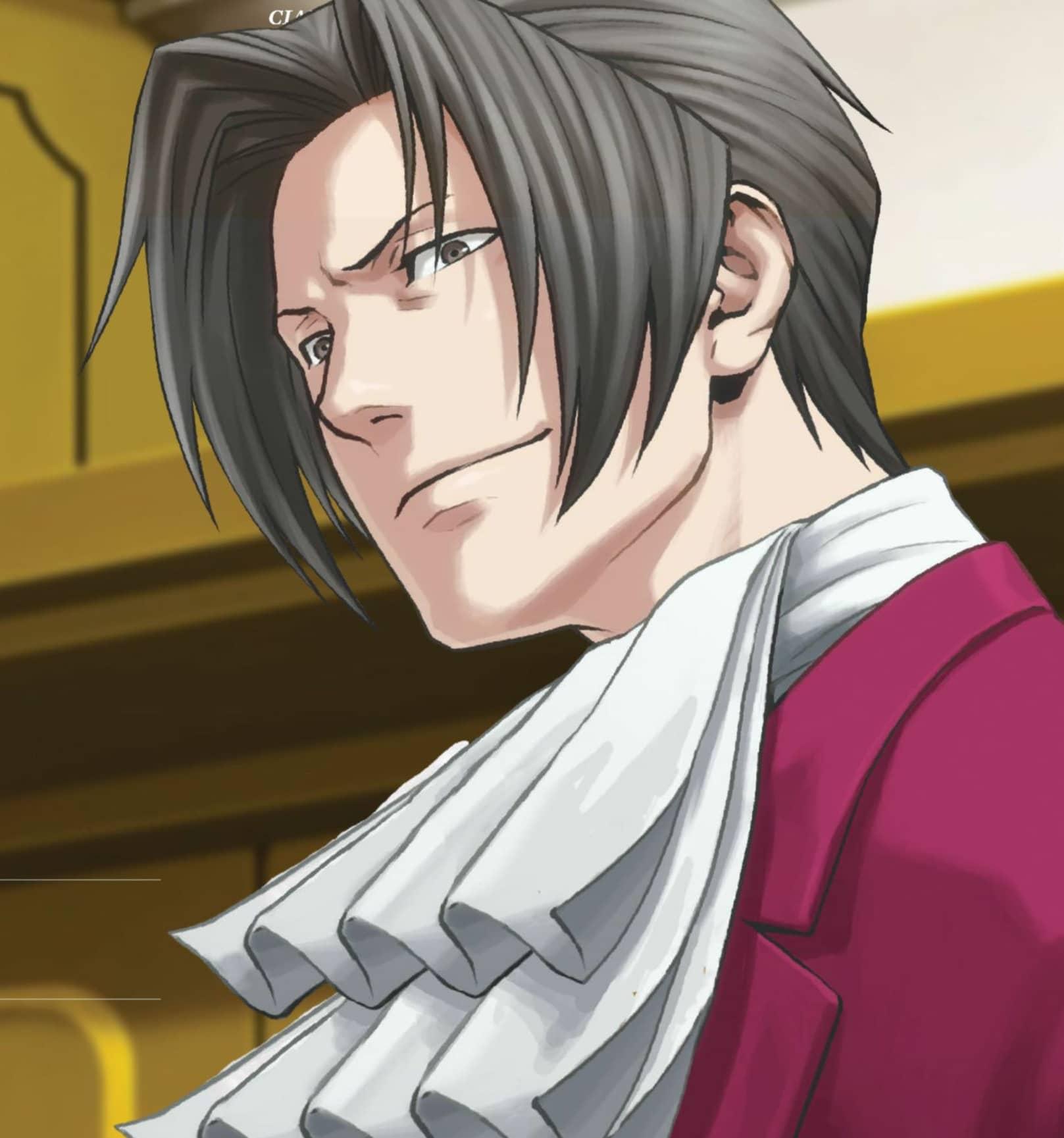 Miles Edgeworth In Ace Attorney