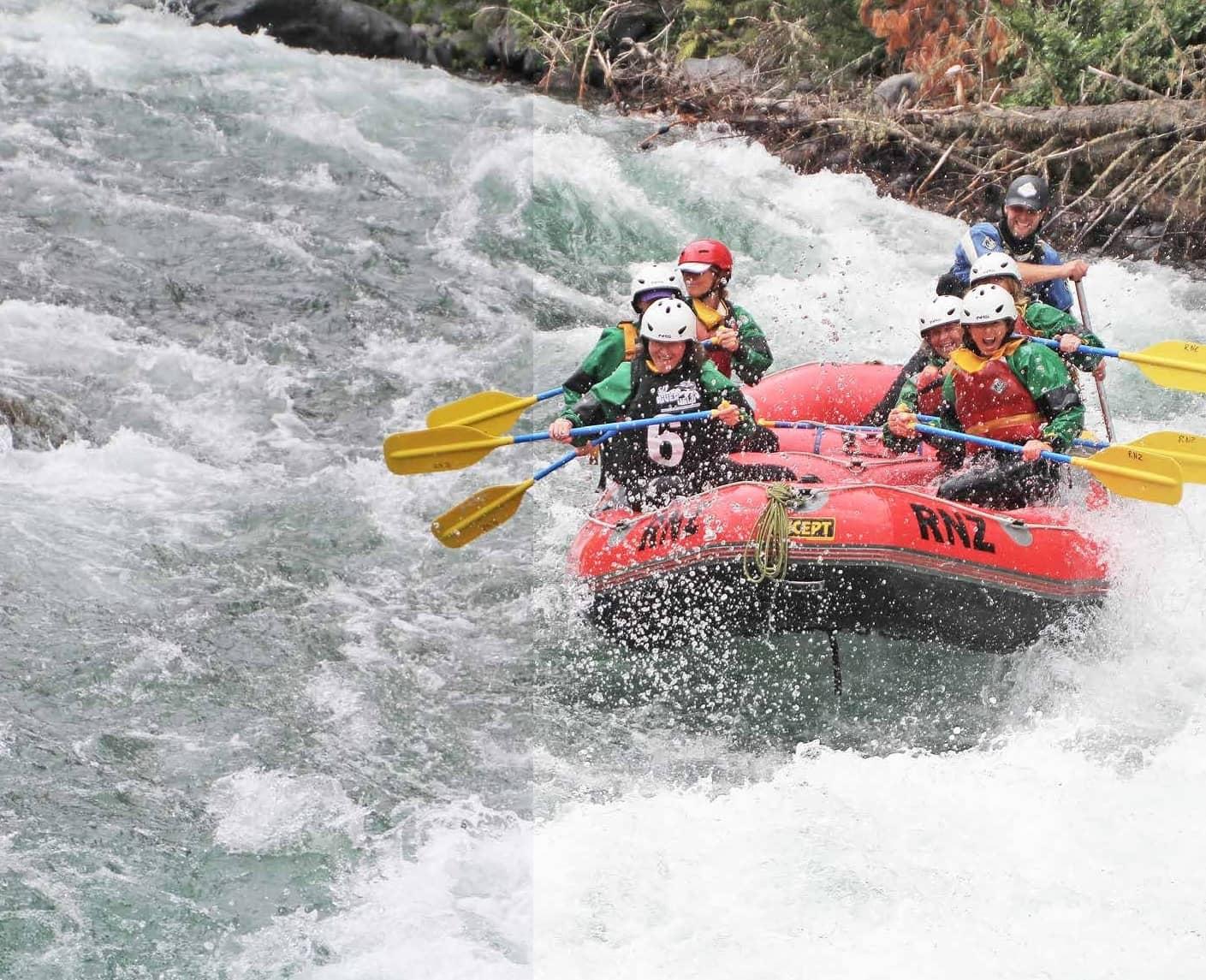 Stu's Crew On The River Wild
