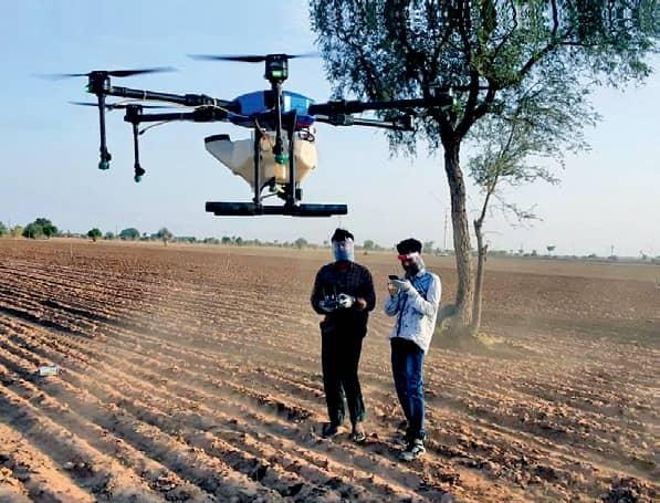 DRONES: NEW WINGS IN WAR ON LOCUSTS