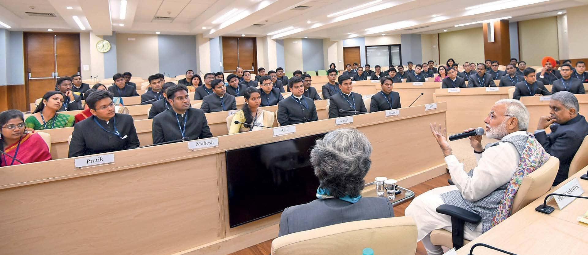 Narendra Modi Plans To Transform The Bureaucracy Into A Future-Ready Service