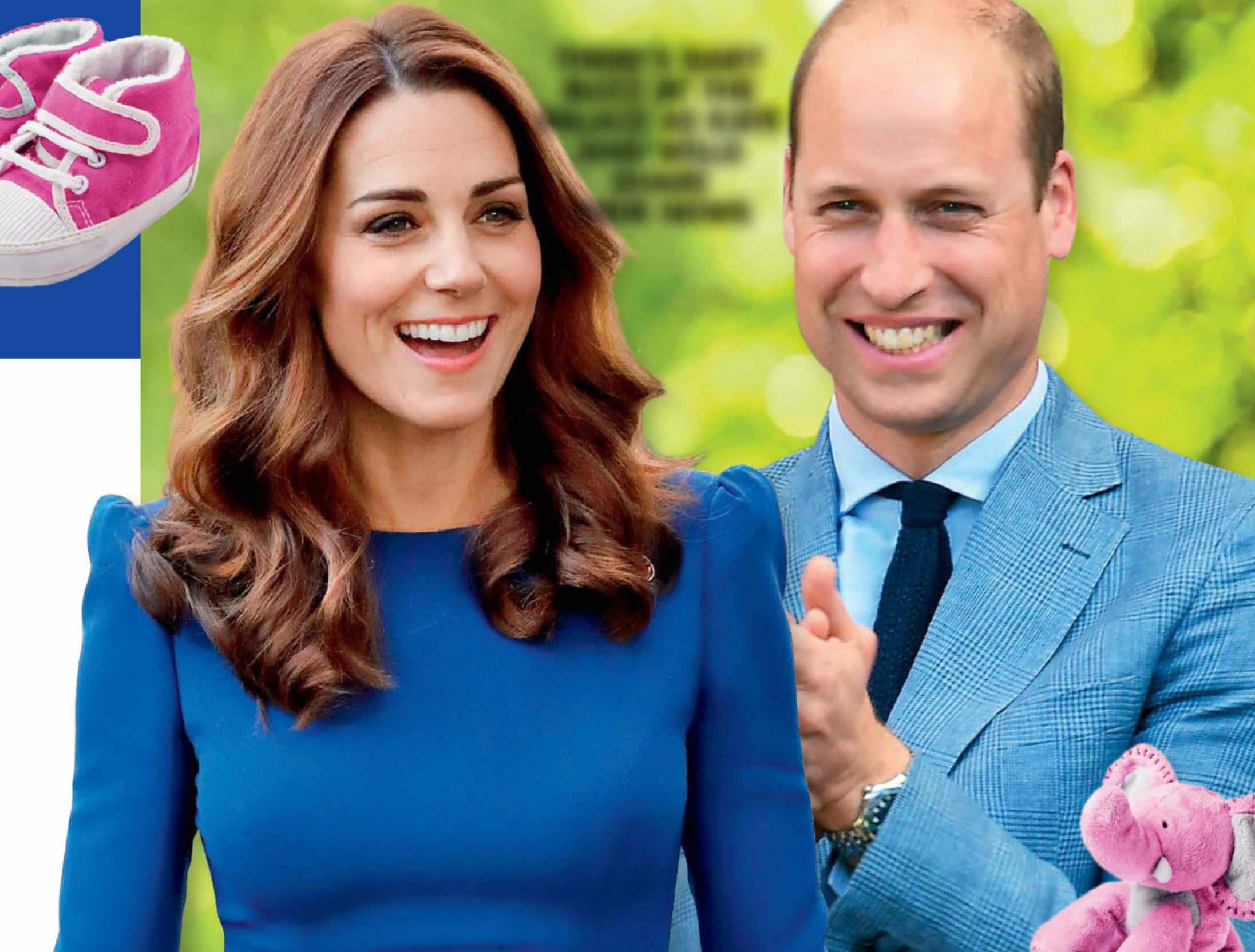 Kate & Wills -It's Baby Number 4!