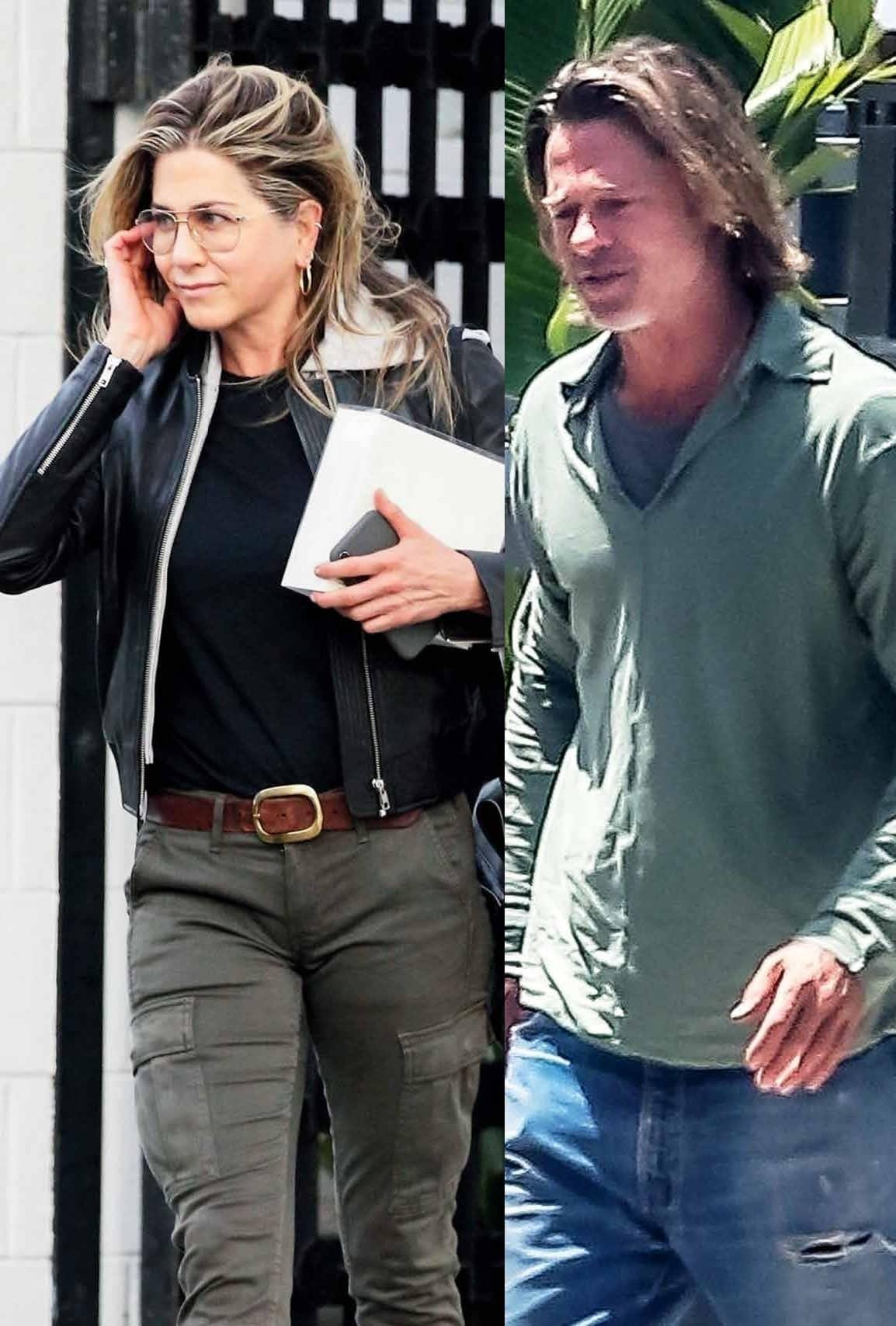 Brad & Jen's Secret Daughter Revealed!