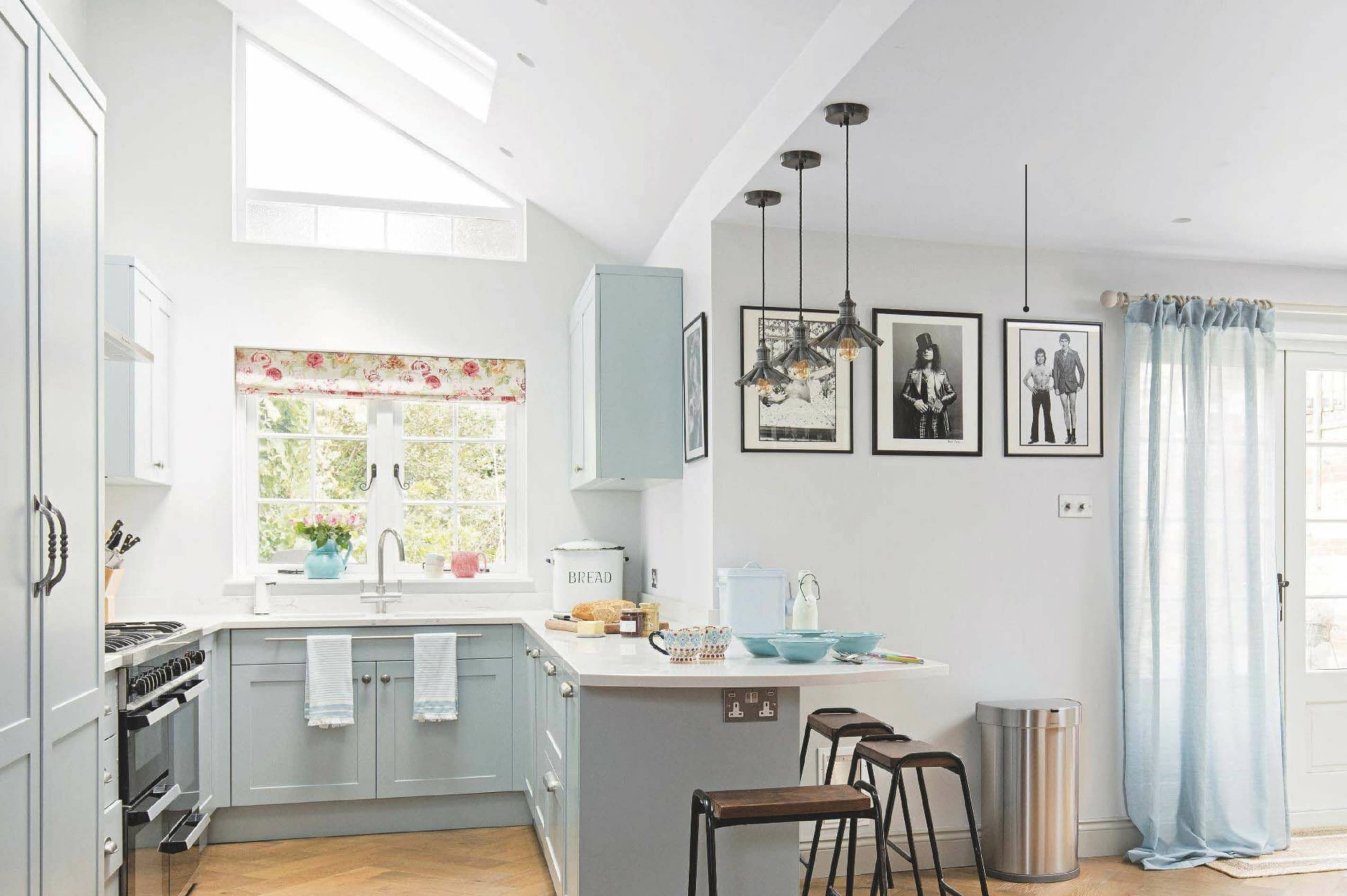 'We Supersized A Tiny Galley Kitchen'