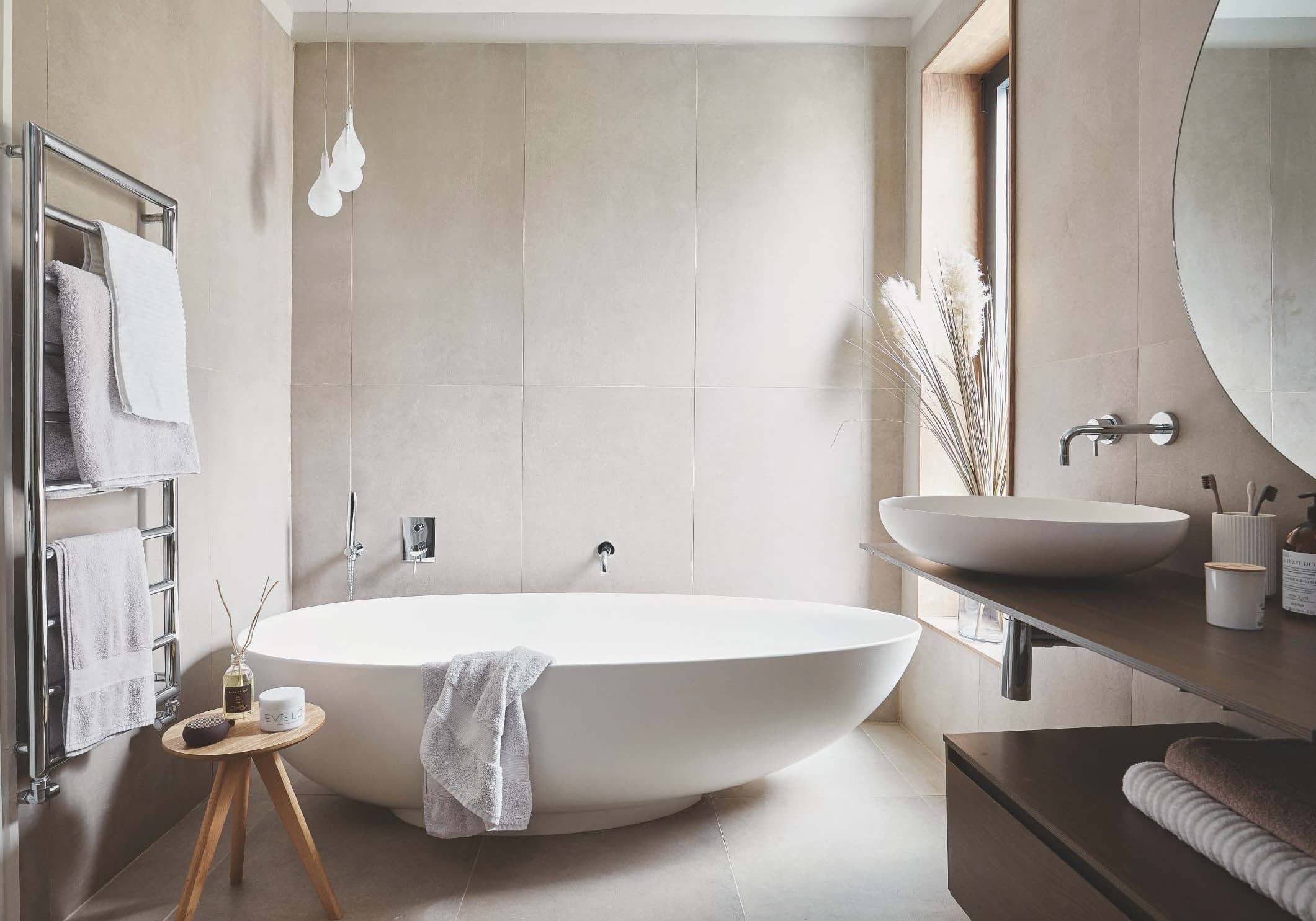 'This bathroom is all about relaxation'
